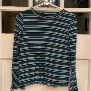 Kids casual stripes top